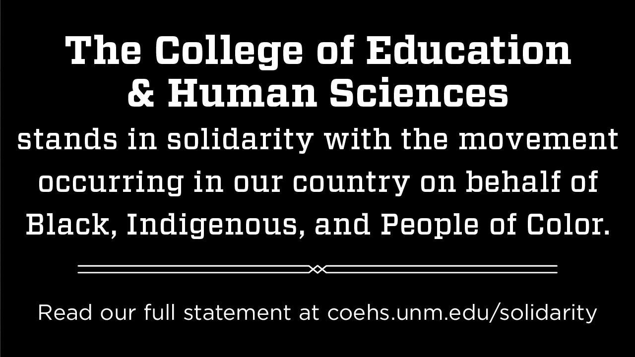 COEHS Statement on Solidarity with BIPOC