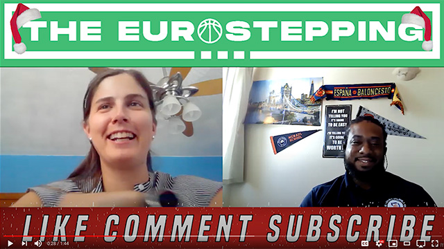 Screenshot of Dan Gayle and Dr. Allison Smith on Eurostepping podcast video